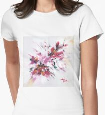 Floral New Women's Fitted T-Shirt