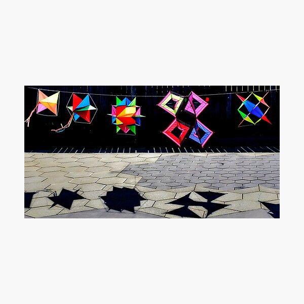 Five Kites Photographic Print
