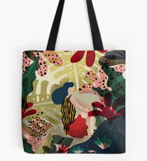 Relaxed In Jungle Tote Bag