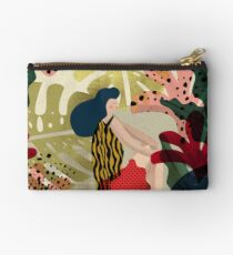 Relaxed In Jungle Studio Pouch