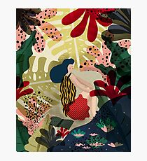 Relaxed In Jungle Photographic Print