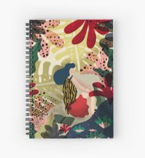 Relaxed In Jungle Spiral Notebook