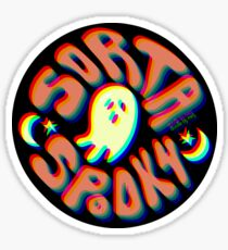 Sorta Spooky 3D Sticker