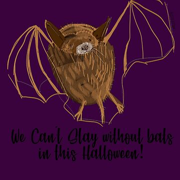 Adorable Bats for Halloween (Purple) by belettelepink