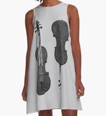 Violin A-Line Dress