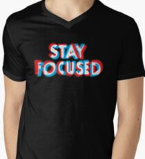 Stay Focused Men's V-Neck T-Shirt
