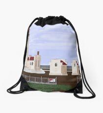 North Head Lighthouse Drawstring Bag