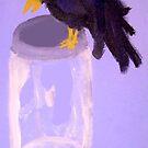 Crow Bird by Mel Bohrer