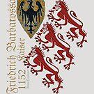 Medieval Lions of Kaiser Barbarossa by edsimoneit