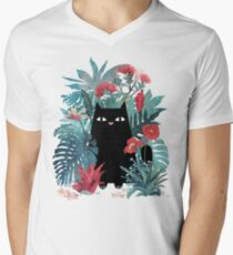 Popoki Men's V-Neck T-Shirt