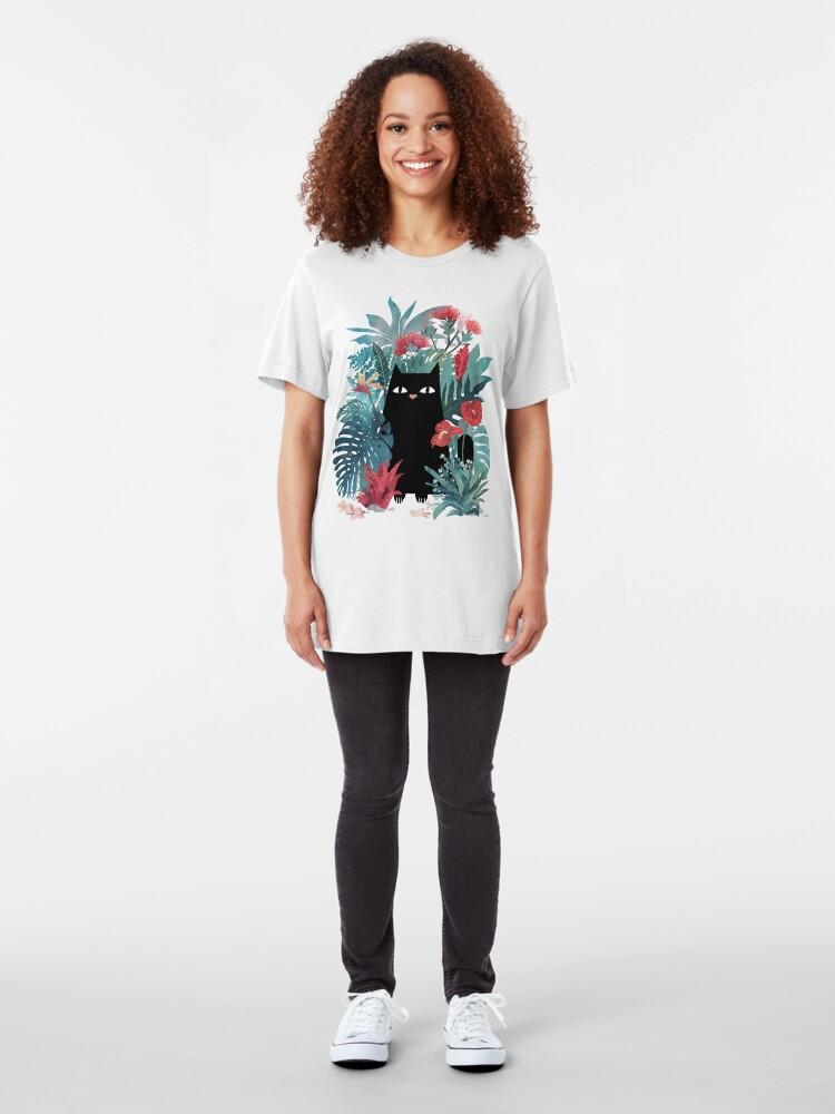 Alternative Ansicht von Popoki Slim Fit T-Shirt