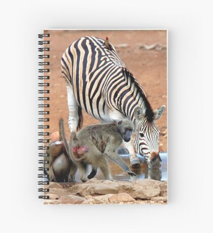 AFRICAN WILDLIFE - SHARE AND SHARE ALIKE ! Spiral Notebook