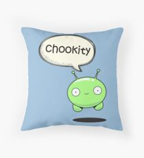 chookity mooncake Throw Pillow