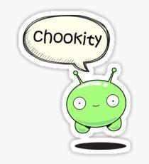 chookity mooncake Sticker