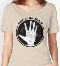 Map of the Palm Women's Relaxed Fit T-Shirt