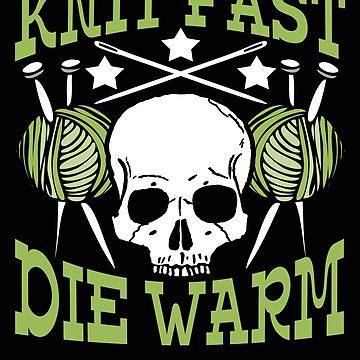 Knit Fast Die Warm Novelty Design by vtv14
