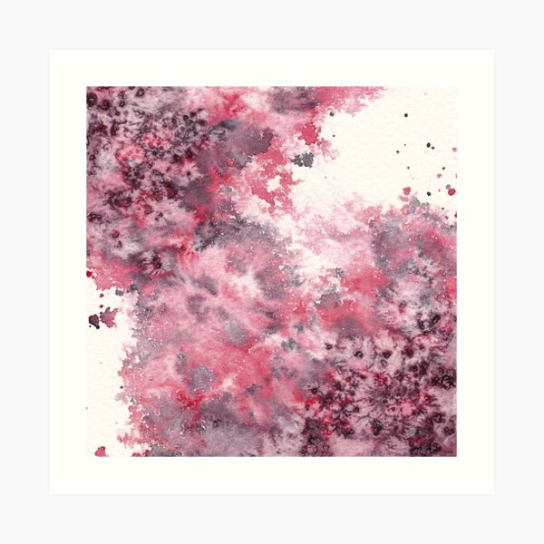 Watercolor Splash I Art Print