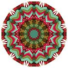 Retro Fall Mandala Pattern by machare