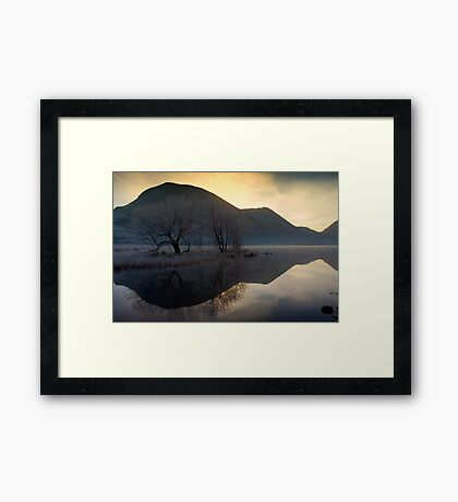 Frosty Brotherswater Framed Print