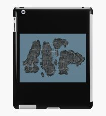 Grand Theft Auto IV Map iPad Case/Skin