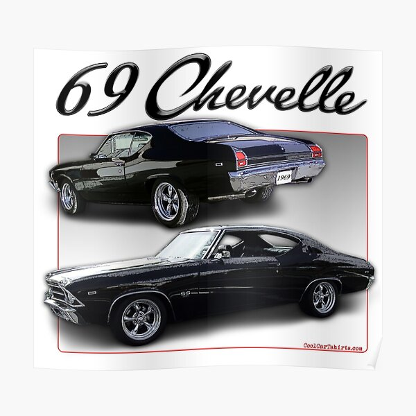 1969 Chevelle Poster