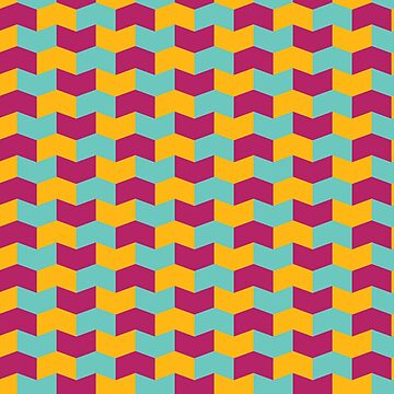 Colorful geometric pattern by NVDesigns