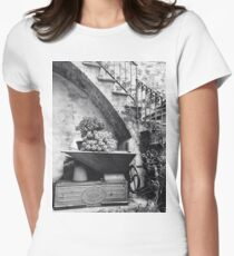 Rustic Italy Women's Fitted T-Shirt
