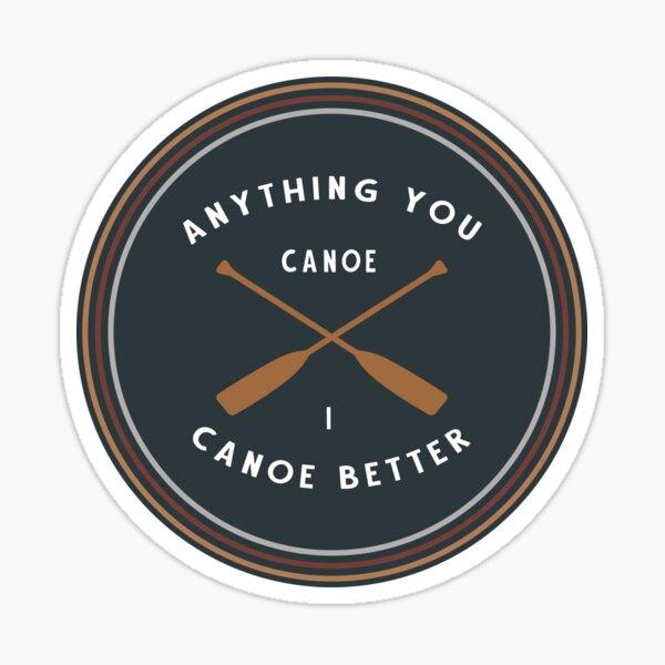 Canoe Sticker