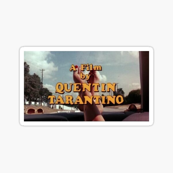TARANTINO Sticker