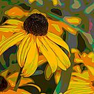 Black Eyed Susan  by Sylvia Labelle