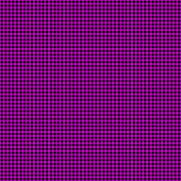 Zombie Purple and Black Halloween Gingham Check by Creepyhollow