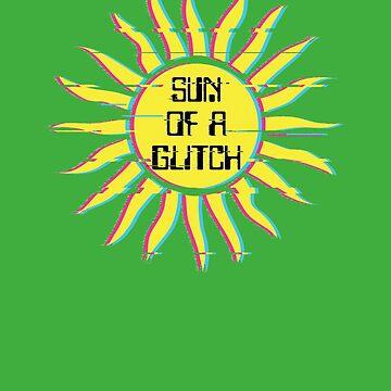 Sun Of A Glitch Funny Computer Glitches by 2catminimum