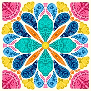 Multicolor Boho Style by noondaydesign