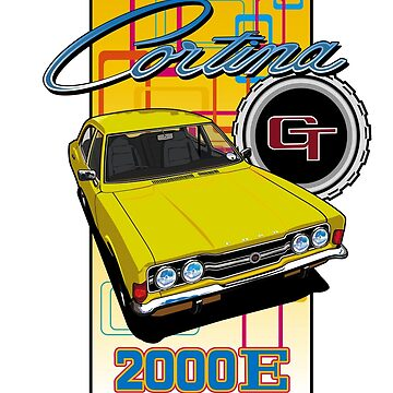 Ford Cortina 2000E by limey57