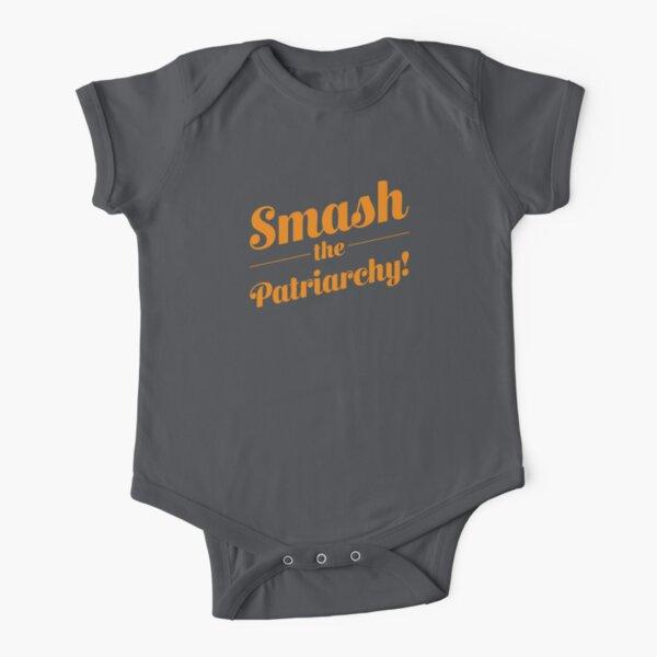 ¡Aplasta al Patriarcado! Body de manga corta para bebé