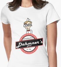 Dahmer's Diner Women's Fitted T-Shirt