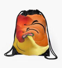 Cymbidium Drawstring Bag