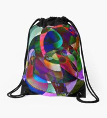"""""""Act Swiftly Awesome Pachyderm!"""" Drawstring Bag"""