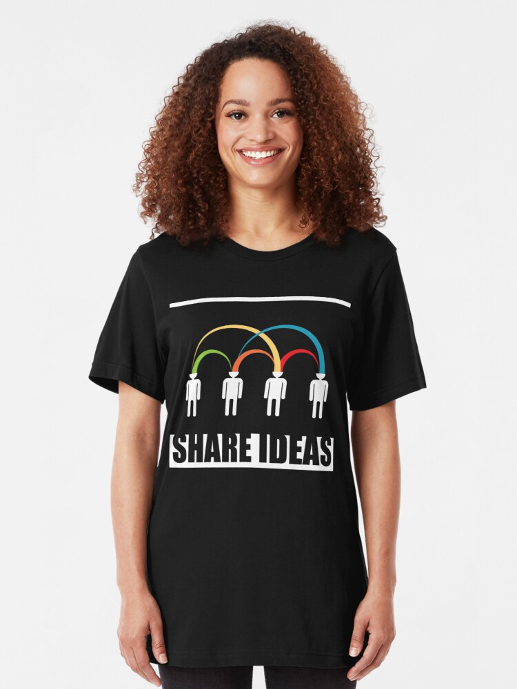 Alternate view of share ideas Slim Fit T-Shirt