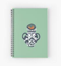 Mysterious Spiral Notebook