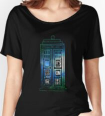 TARDIS - 'It's bigger on the inside' quote Women's Relaxed Fit T-Shirt