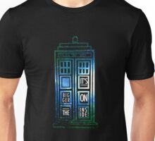TARDIS - 'It's bigger on the inside' quote Unisex T-Shirt