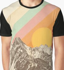 Mountainscape #1 Graphic T-Shirt