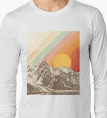 Mountainscape #1 Long Sleeve T-Shirt