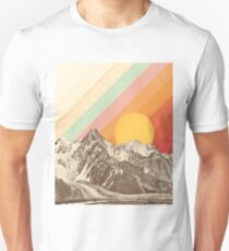 Berglandschaft # 1 Slim Fit T-Shirt