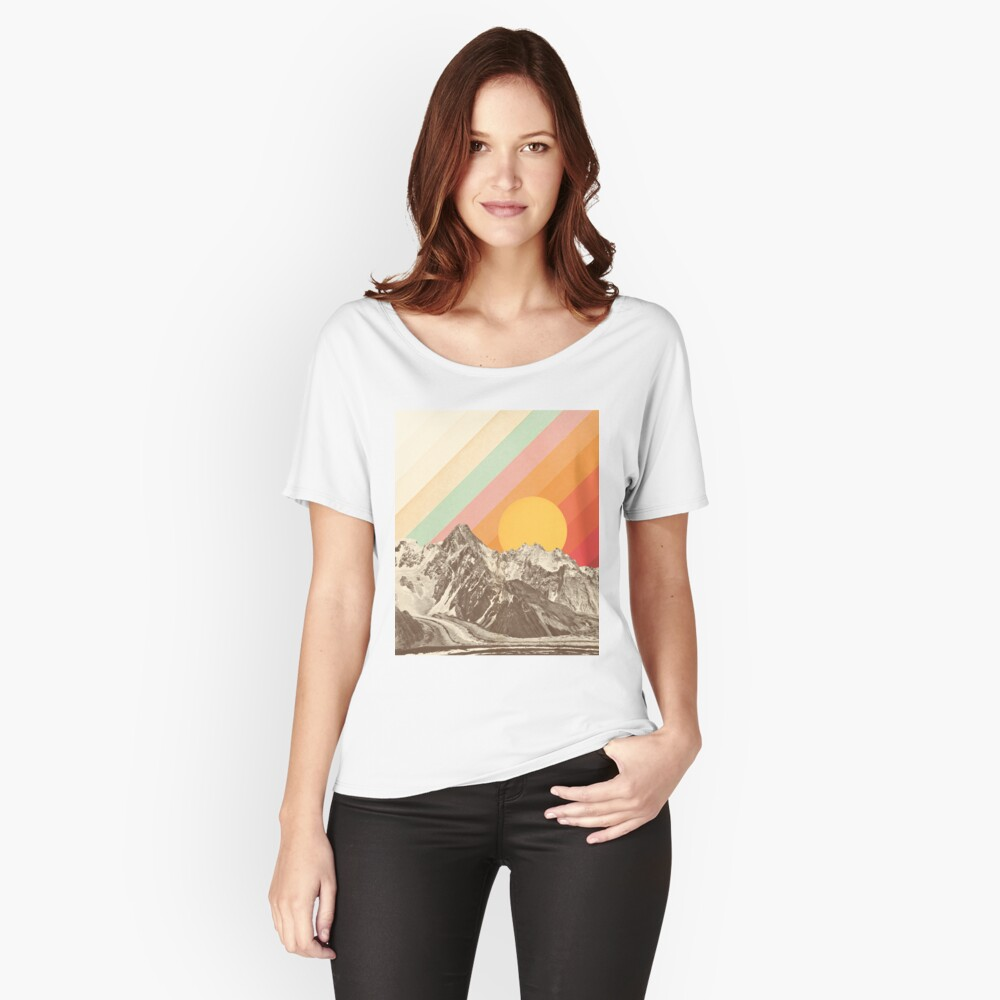 Mountainscape #1 Relaxed Fit T-Shirt