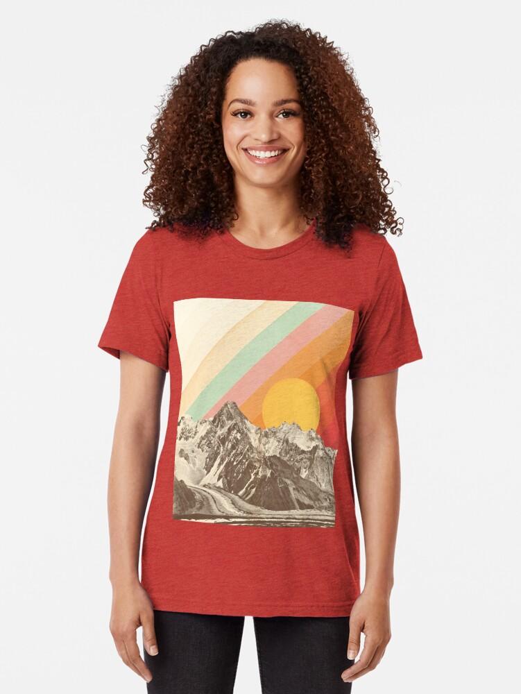 Alternative Ansicht von Berglandschaft # 1 Vintage T-Shirt