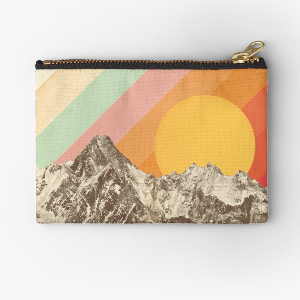 Mountainscape #1 Zipper Pouch