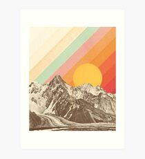 Mountainscape #1 Art Print