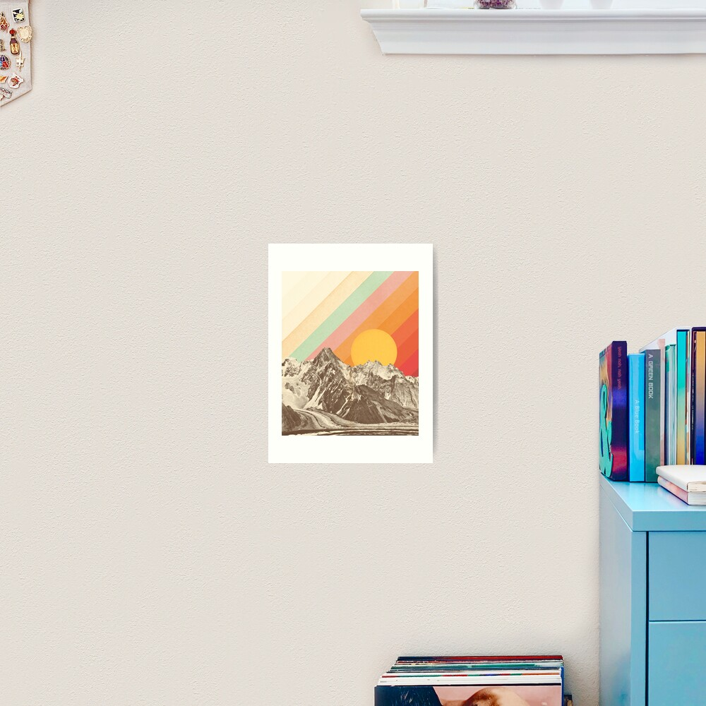 Mountainscape #1 Art Print